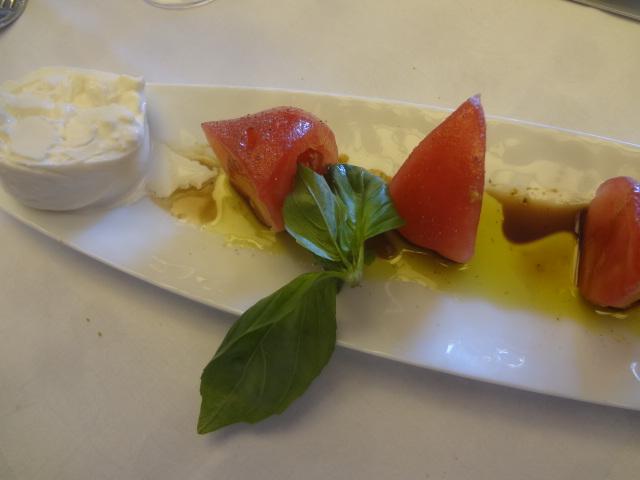Tomate et burrata © GP