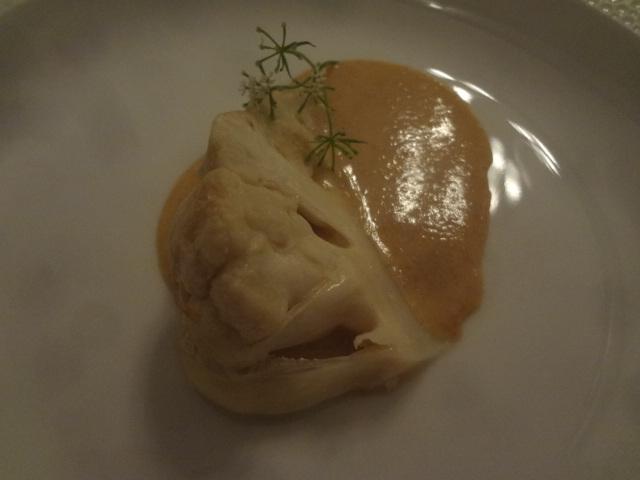 Chou-fleur rôti sauce brioche ©GP