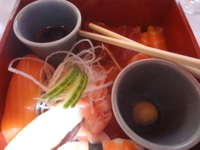 Sushi et sashimi © GP