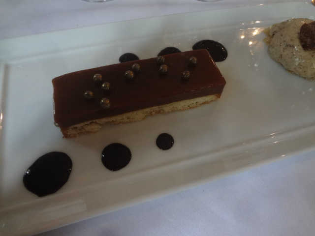 Tarte fine chocolat caramel © GP