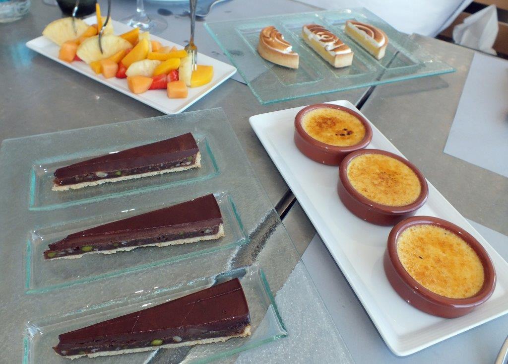 Les desserts © AA