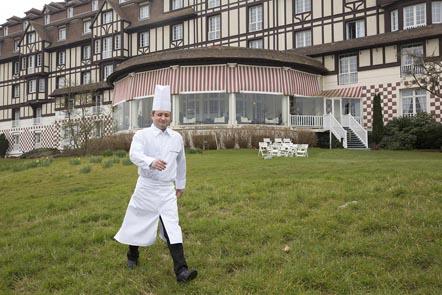 Christophe Bezannier et l'Hôtel du Golf © Maurice
