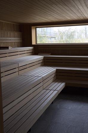 Sauna ©Maurice Rougemont