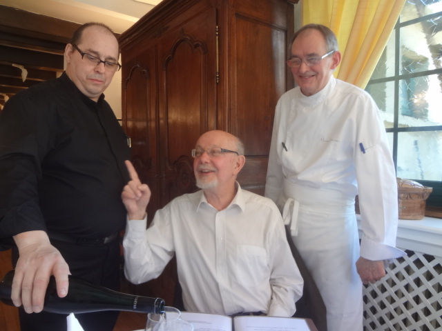 Michel Sacksteder, JFK et Marcel Moureaux ©GP