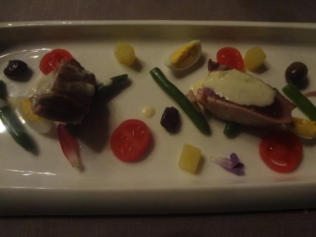 """Salade """"niçoise"""" © GP"""
