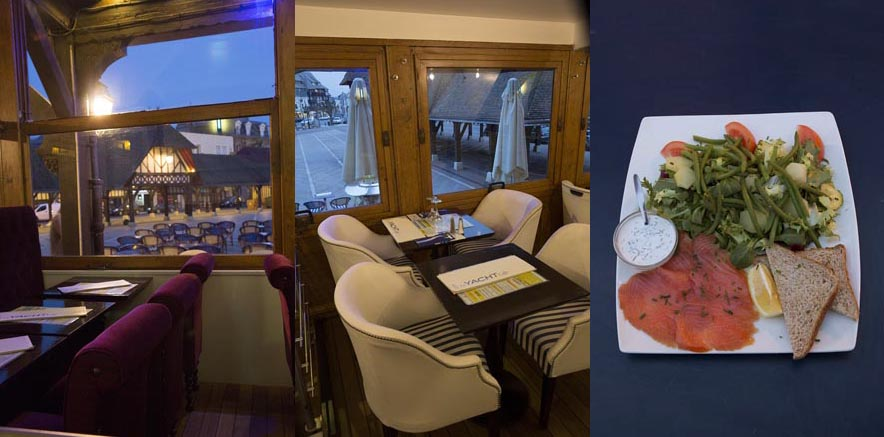 "Salade ""Yacht"" et décor © Maurice Rougemont"