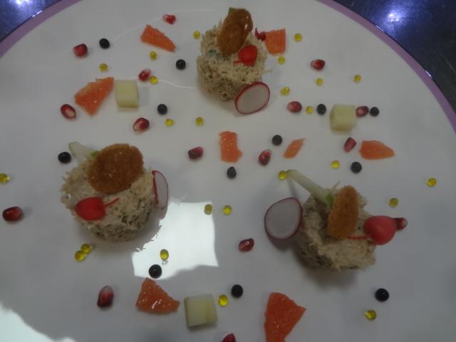 Tourteau au wasabi © GP
