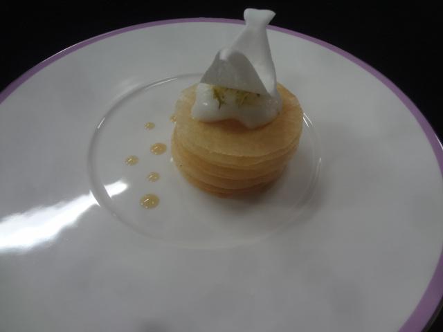 Croustillant au citron © GP