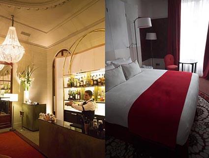 Bar et chambre © Maurice Rougemont