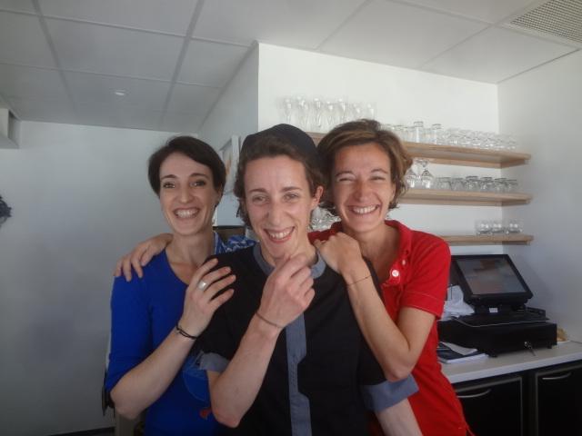Delphine, Yenofa et Nanou ©GP