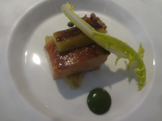 Foie gras à la rhubarbe © GP
