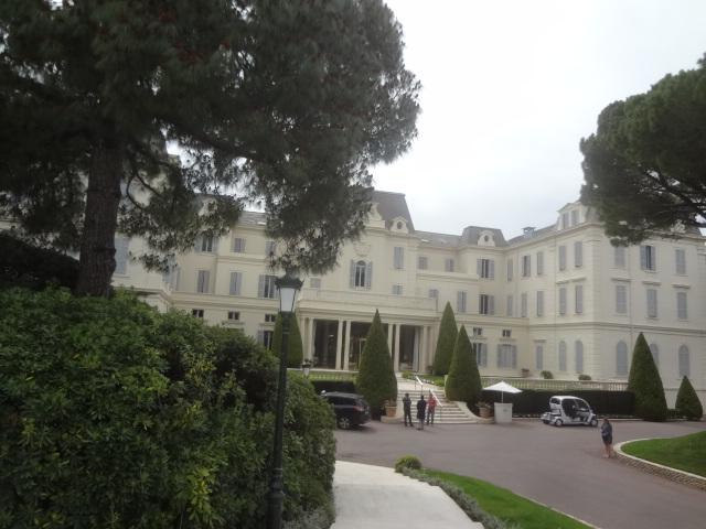 L'Hôtel du Cap vu du parc © GP