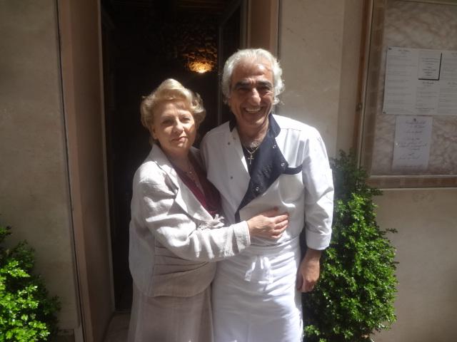 Giuseppe et son épouse © GP