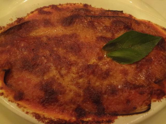 Millefeuille d'aubergine à la tomate © GP