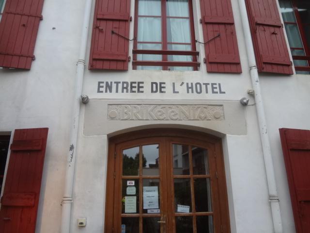 Entrée de l'hôtel © GP