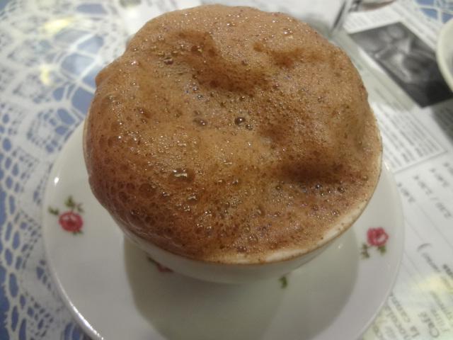 Le chocolat chaud © GP