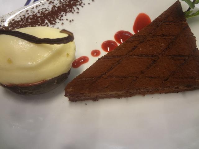 Dacquoise au chocolat ©GP