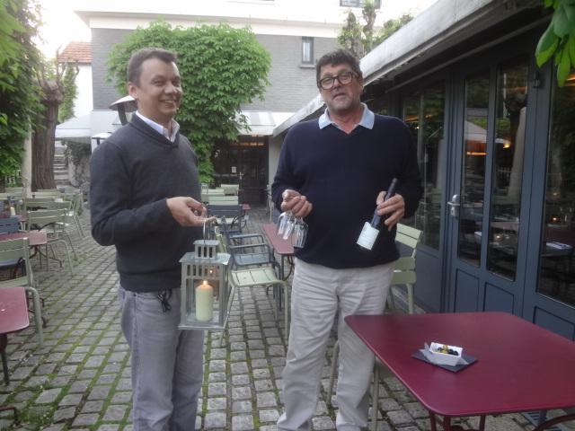 Chistophe et Bernard Marcelin © GP