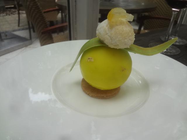 Citron givré comme une profiterole © GP