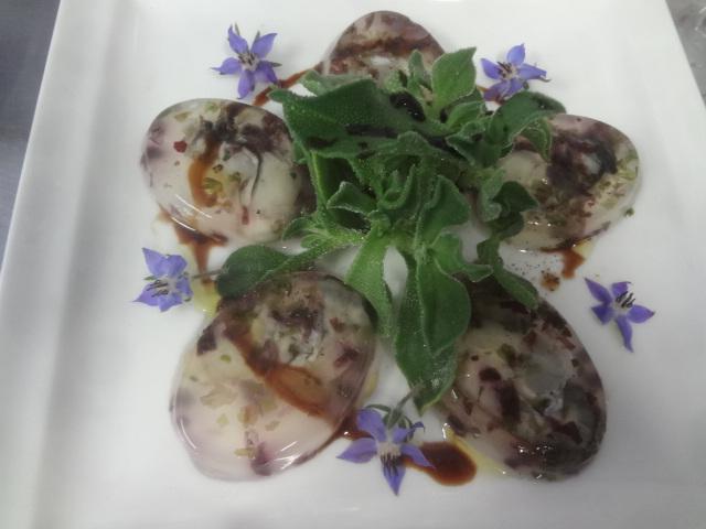 Huîtres en gelée © GP