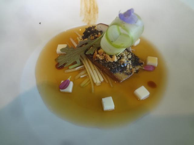 Foie gras braise aux algues ©GP