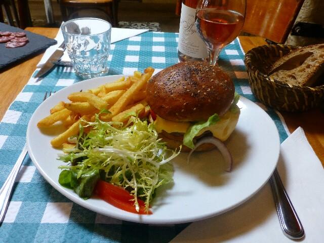Hamburger maison © DD