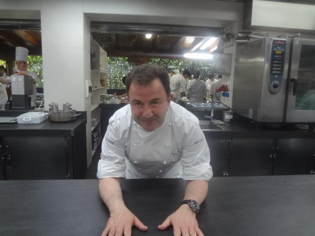 Martin Berasategui en cuisine ©GP
