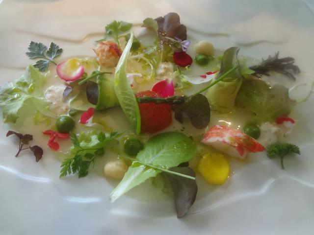 Salade tiède de coeurs de légumes ©GP