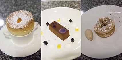 Desserts © Maurice Rougemont