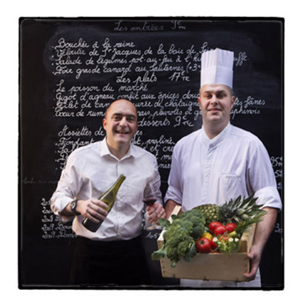 Yann le Pévédic et Sébastien Guillo © Maurice Rougemont