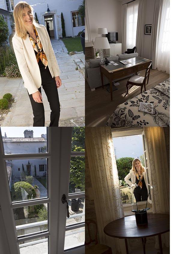 La Villa Clarisse et Olivia Le Calvez © Maurice Rougemont
