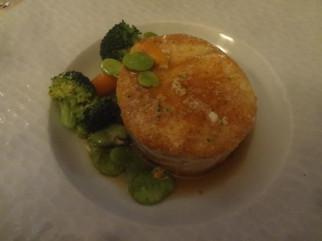 Cabillaud et bourride de légumes ©GP