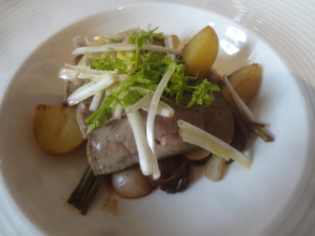 Foie de veau mariné © GP