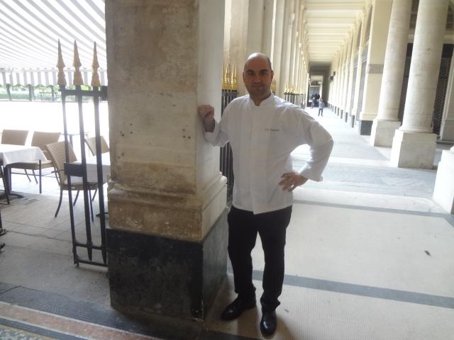 Eric Fontanini au Palais Royal © GP