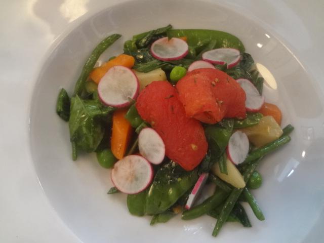 Assiette de légumes © GP