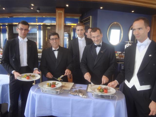 Le service au Grill ©GP