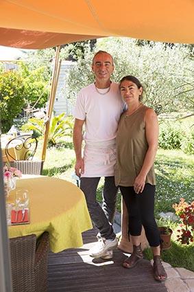 Patrick et Cécile Daudu ©Maurice Rougemont