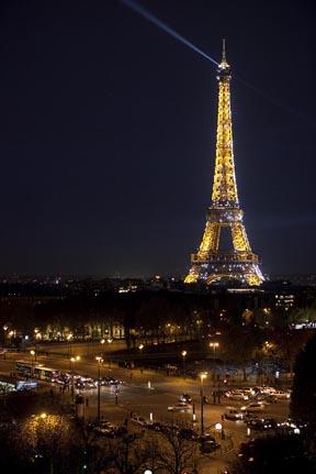La vue sur Paris depuis la Maison Blanche © Maurice Rougemont