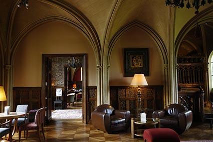 Un salon de l'hôtel ©Maurice Rougemont