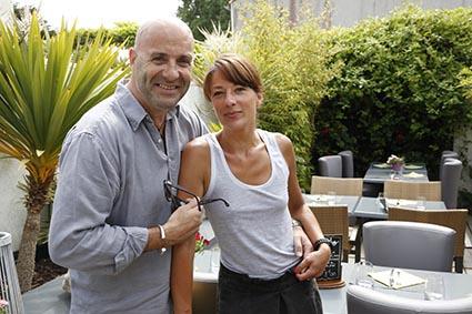 Thierry et Barbara Martin © Maurice Rougemont