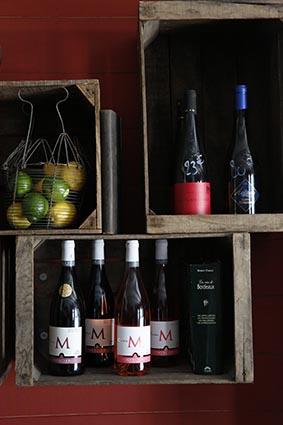 Les vins © Maurice Rougemont