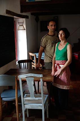 Stéphanie Mouillard et Matthieu Girardet ©Maurice Rougemont