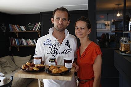 Vincent et Emilie Latouche ©Maurice Rougemont