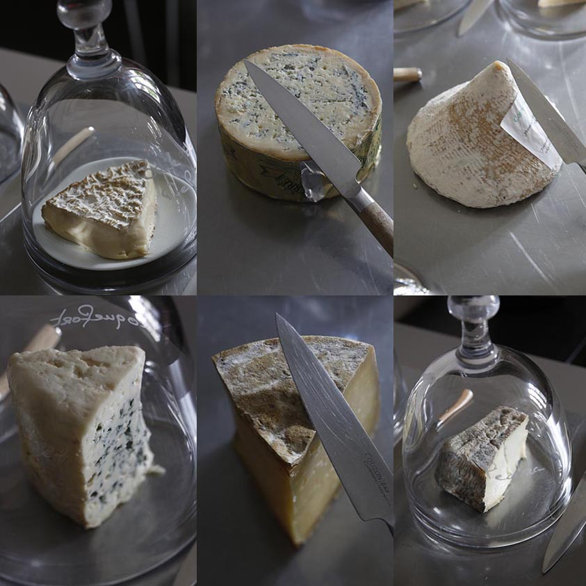 Les fromages ©Maurice Rougemont