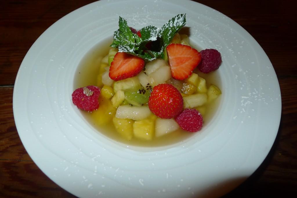 Salade de fruits exotiques © JPE