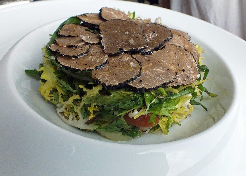 Salade de truffes © AA