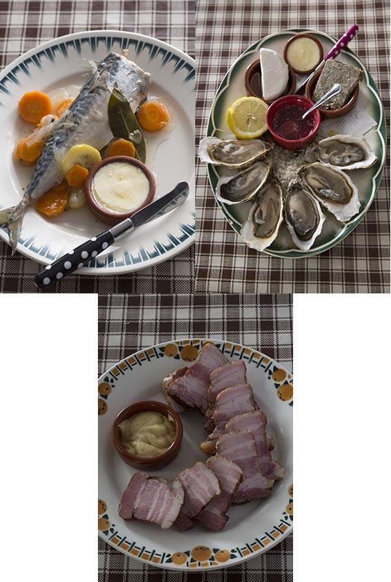 Les assiettes © Maurice Rougemont