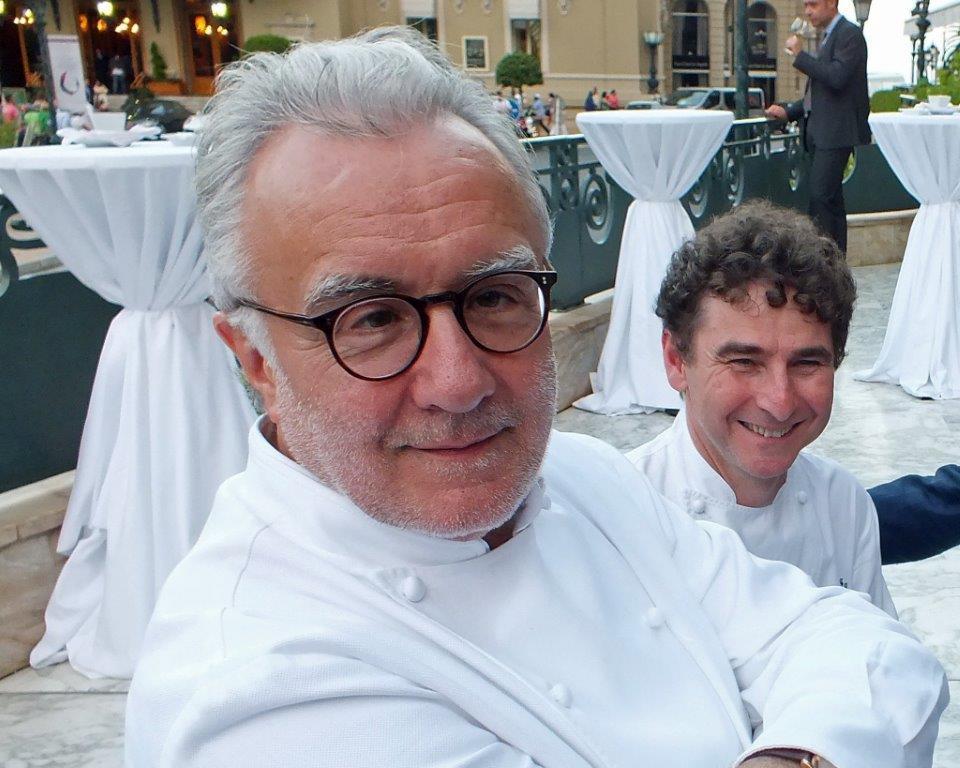 Alain Ducasse et Franck Cerutti © AA