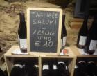 Cortona: vins, jambon, fromages chez les Magi