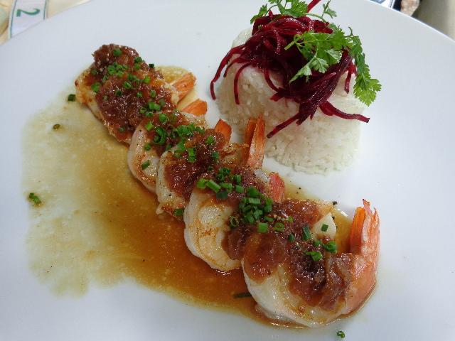 Crevettes snackées © GP